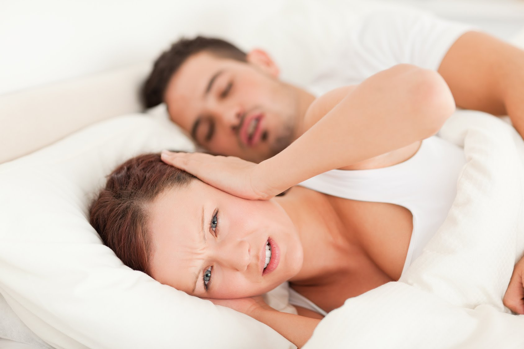 Stop Snoring By Losing Weight